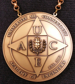 U Conn medallion